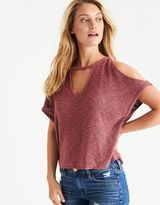 American Eagle Outfitters AE Drapey Choker Sweater