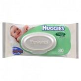 Huggies Baby Wipes Unscented Refill 80 wipes