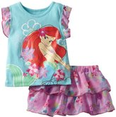 Disney Baby-girls Infant 2 Piece Knit Top and Skirt