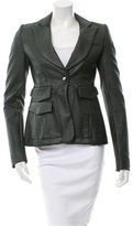 Altuzarra Textured Notch-Lapel Blazer