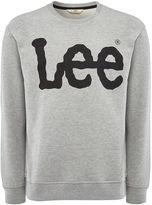 Lee Long Sleeve Logo Crew Neck Sweatshirt