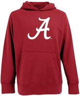 Antigua Men's Alabama Crimson Tide Signature Pullover Fleece Hoodie