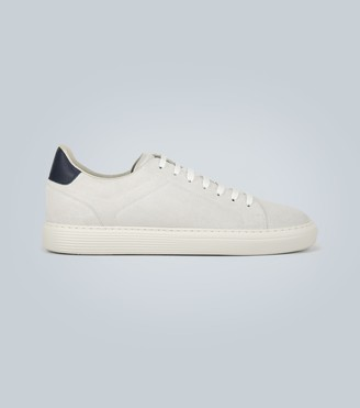 Brunello Cucinelli Exclusive to Mytheresa a suede sneakers