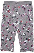 Disney Classic Mouse Womens Pajama Pants - Kiss - Grey Pink