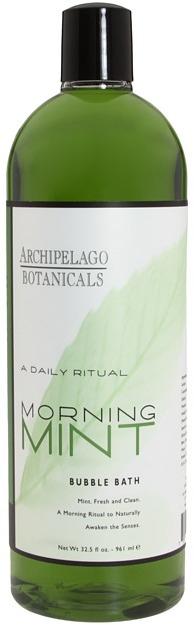 Archipelago Botanicals Morning Mint Bubble Bath Bath and Body Skincare