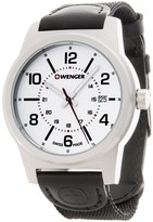 Wenger Field Gear Analog Swiss Quartz Watch - Nylon Strap