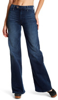 Mother The Tab Socialite Wide Leg Jean