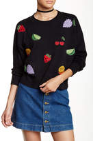 Wildfox Couture Embellished Fruit Pullover