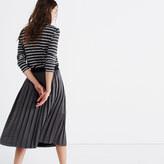 Madewell Shimmer Midi Skirt
