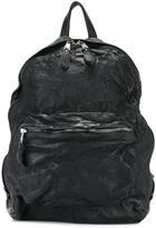 Giorgio Brato zipped backpack - men - Cotton/Leather - One Size