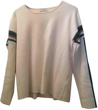 Suncoo Ecru Cotton Knitwear for Women