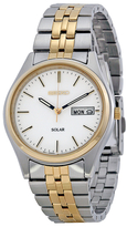 Seiko Two Tone Stainless Steel Watch, 37mm