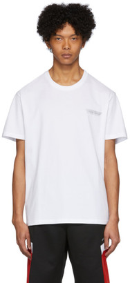 Givenchy White Tape Details T-Shirt