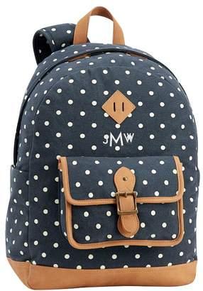 Pottery Barn Teen Northfield Navy Dot Backpack