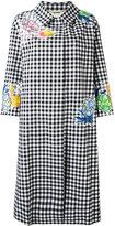 Blumarine Vicky coat - women - Cotton/Polyester/Spandex/Elastane/Viscose - 40