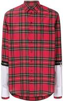 DSQUARED2 Checked Layered Shirt