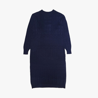 Diarte - Jey Knitted Midi Dress - Size Small - Blue