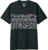 Uniqlo Men Sprz Ny K.haring Short Sleeve Graphic T-Shirt