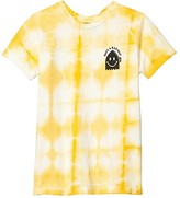 Tiny Whales Have A Rad Day T-Shirt (Toddler/Little Kids/Big Kids) (Gold Tie-Dye) Boy's Clothing