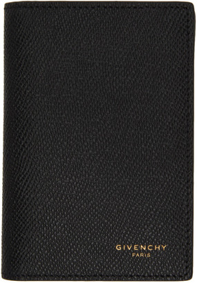 Givenchy Black and Burgundy Eros Card Holder