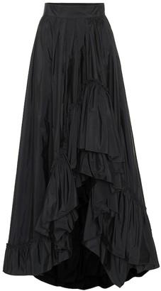Max Mara Abadan taffeta maxi skirt