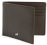 Porsche Design Men's 'Fc 3.0' Leather Bifold Wallet - Brown