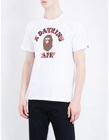 A Bathing Ape Katakana-overlay Cotton-jersey T-shirt