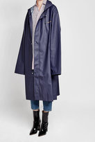 Vetements Printed Raincoat
