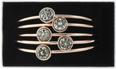 Liz Claiborne Womens Gray Bangle Bracelet