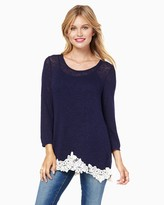 Charming charlie Bellamy Knit Top