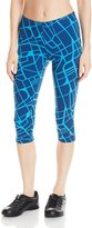 Champion Women's Power Cotton Print Knee Tight
