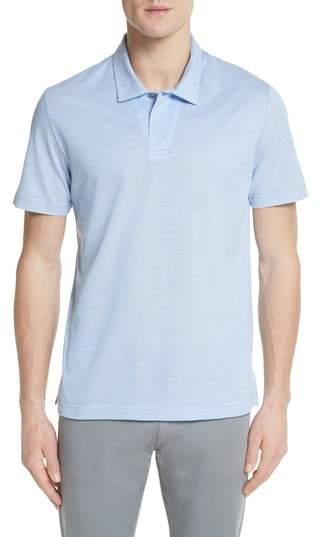 Canali Pique Polo Shirt