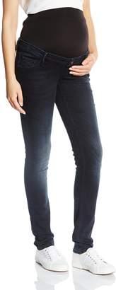 Queen Mum Women's Denim Slimfit Maternity Jeans