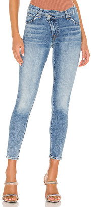 7 For All Mankind Asymmetric Front Slim. - size 24 (also
