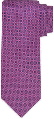 Stefano Ricci Men's Flower Dot-Print Tie