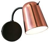 Cheatham 1-Light Armed Sconce Corrigan Studio Finish: Black/Copper
