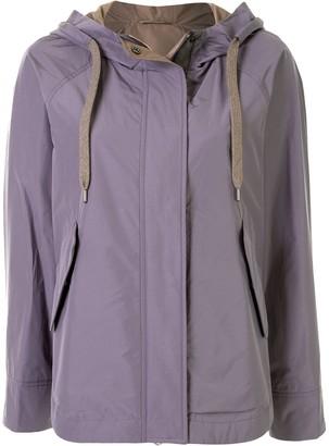 Brunello Cucinelli Hooded Light Jacket