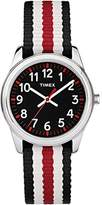 Timex Boys TW7C10200 Time Machines Metal Nylon Strap Watch
