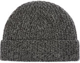 Johnstons Marled Cashmere Ribbed Beanie