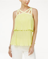 Thalia Sodi Pleated Popover Top, Created for Macy's