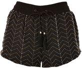 Topshop Beaded Flippy Shorts