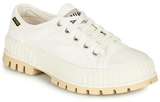 Palladium PALASHOCK OG women's Shoes (Trainers) in White