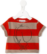 Bobo Choses Terry The Cyclist T-shirt - kids - Cotton/Polyester - 9-12 mth