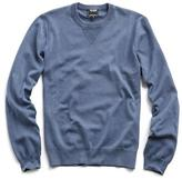 Todd Snyder Garment Dyed Crewneck Sweater in Navy