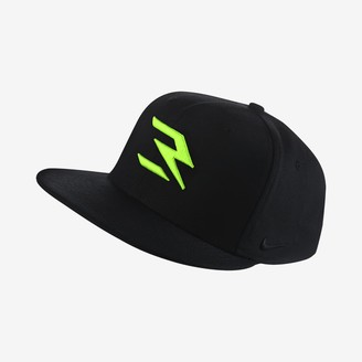 Nike Fitted Hat True Russell Wilson Swoosh Flex QS