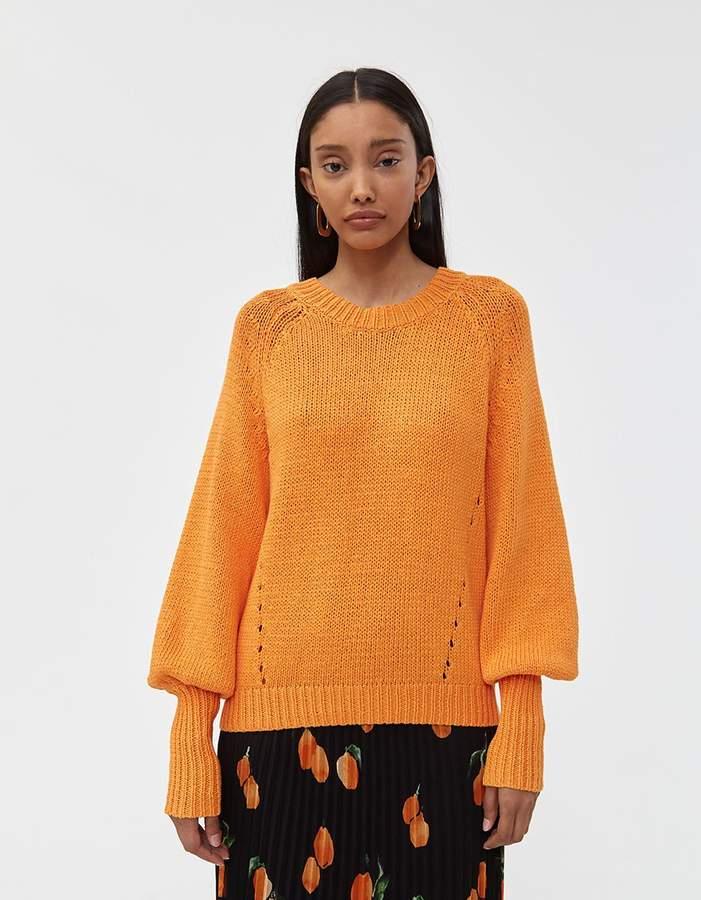 Just Female Mari Sweater in Orange