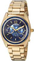 Invicta Women's 'Wildflower' Quartz and Stainless-Steel Casual Watch, Color:Gold-Toned (Model: 23462)