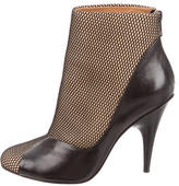 3.1 Phillip Lim Fishnet Ankle Boots
