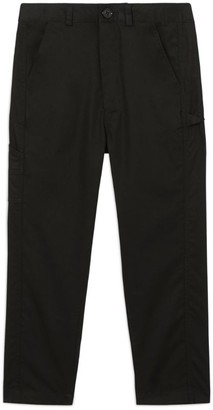 Burberry Kids Logo Cotton Trousers (3-12 Years)