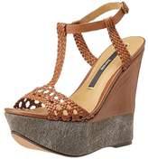 Kensie Women's Shelly Wedge Sandal,8.5 M US